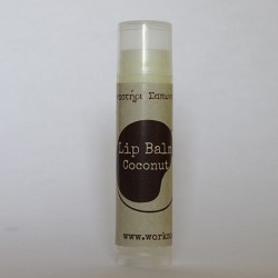 Lip Balm with coconut
